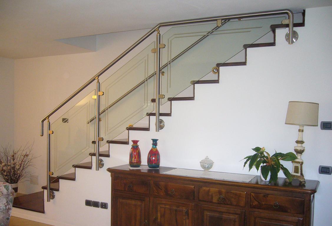 Carpenteria metallica baroni arco di trento inox saldatura waterjet taglio a getto d 39 acqua - Ringhiere per interni ...