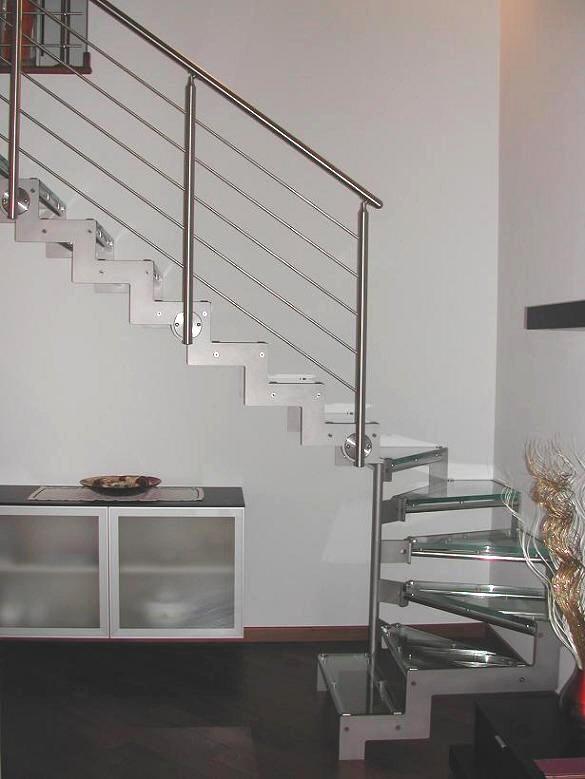 Carpenteria metallica baroni arco di trento inox saldatura - Scale per interni catania ...